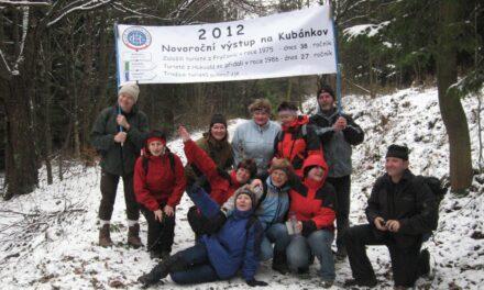 2012 – Novoroční výstup na Kubánkov