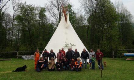 Indiáni na Hukvaldech