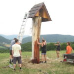 Oprava zvoničky KČT