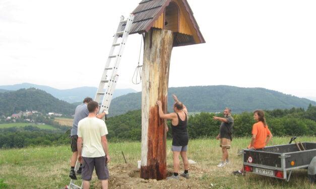 2012 – Oprava zvoničky KČT